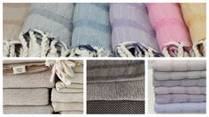 Håndvævede økologiske håndklæder