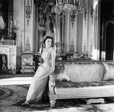 Queen Elizabeth in 1968 by Cecil Beaton