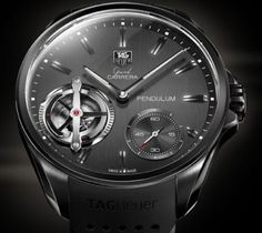 10 of the Hottest High-End Car-Inspired Watches - One-of-a-kind Tag Heuer Tesla Roadster. The Pendulum watch replaces a timeless piece of the time-telling equation: the physical hairspring is removed in favor of a series of magnets that combine to keep the mechanical watch running as true as you'd expect any good Swiss timepiece to run.