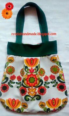 torba, kolorowa torba, torba w kwiaty, Dzień matki, prezent, rozeta, rozetahandmade, bag