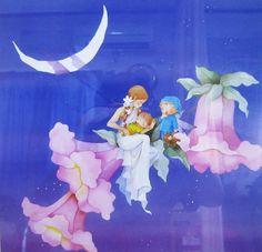 Nagata Moe 永田萌 Illustration Sketches, Lovely Things, Gnomes, Fairies, Watercolor Paintings, Fairy Tales, Artsy, Graphics, Cartoon