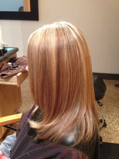Highlights and peter coppola keratin treatment almost 6 weeks ago... Still looking good! Best keratin treatment out there!