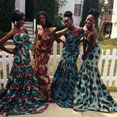Ankra brides maids dresses Nigerian Aso ebi ladies www.winwithmtee.com