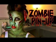 Zombie pin up