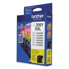 Brother LC205Y Innobella Super High-Yield Ink