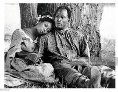 "Madge Sinclair and John Amos in ""Roots."" Amos played the older Kunta Kinte (LeVar Burton played the younger version); and Sinclair played hi. History Channel, Madge Sinclair, Roots 1977, Roots Tv, John Amos, Actor John, Nyc Art, African American History, Black History Month"