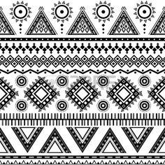 Aztec seamless Peut tre utilis dans la conception de tissu pour faire des v tements des accessoires Banque d'images