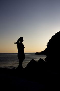 Personal Work by CJunky > http://cjunky.de/portfolio/nature-people-landscapes/crete-sunset #photography #sunset #crete #silhouette