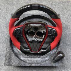 CZD Japan Led 2018-2020 Camry XSE Carbon Fiber steering wheel – CZD Autoparts Vehicle Registration Plate, Cup Design, Toyota Camry, Carbon Fiber, Japan, Led, Leather, Cars, Carbon Fiber Spoiler