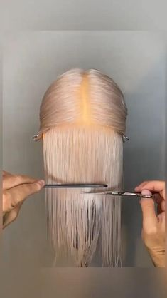 Hair Cutting Videos, Hair Cutting Techniques, Hair Color Techniques, Hair Videos, Shot Hair Styles, Curly Hair Styles, Natural Hair Styles, Hair Transformation, Hair Highlights