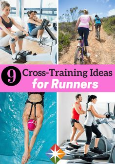 Cross-training is something that everyone should be doing. If you're a runner, you will definitely want to take a look at these 9 cross-training ideas to help keep you injury free!