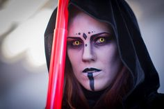 Cosplay Sith Star Wars #cosplay #sith #starwars #makeup #maquillaje