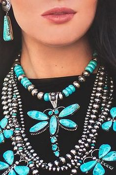 Native American necklace collection