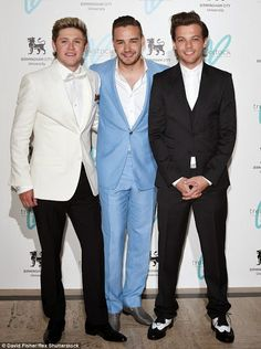Google+ - One Direction's Niall Horan, Liam Payne and Louis Tomlinson scrubbed up well at the Great Gatsby Charity Ball in London but Harry Styles was in LA .