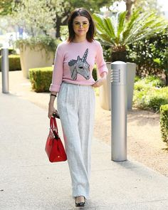 Steal Selena Gomez cute street style wearing her own Coach Selena Grace collaboration with @Coach for this Fall season available in 3 different colors that will match your style in any occasion. Bella! #GraziaIndonesia #GraziaFashion #CoachxSelena #CoachIndonesia Photo credit : JB Laroix/Wireimage  via GRAZIA INDONESIA MAGAZINE OFFICIAL INSTAGRAM - Fashion Campaigns  Haute Couture  Advertising  Editorial Photography  Magazine Cover Designs  Supermodels  Runway Models