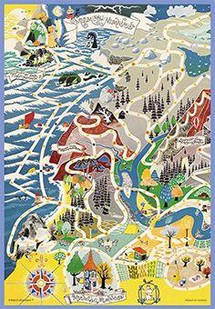 216ピースプリズムアートパズルシリーズムーミン谷の地図62-07