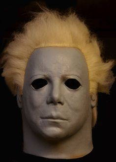 BACK FROM THE GRAVE and Universal Studios are proud to present the Official Halloween II Ben Tramer Mask!