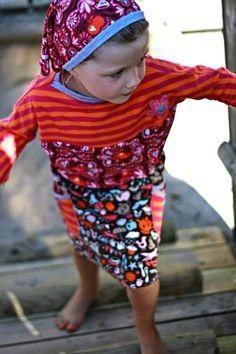 Rock Hilda mit Fledermausshirt Madita.