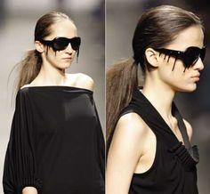 Black Dripping Sunglasses