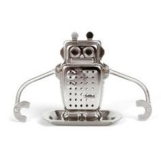 Robot Tea Infuser - Cute. Has several positive reviews, along with a few negative ones.