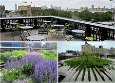 A cafe on the High Line! The perfect thing needed for such a beautiful park and to spend even more time there