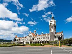 The World's Most Beautiful Train Stations : Condé Nast Traveler....Dunedin, New Zealand