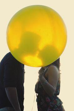 big wedding baloon