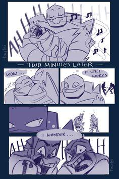 Teenage Ninja Turtles, Ninja Turtles Art, Tmnt Comics, Cute Comics, Ninja Turtle Bedroom, Tmnt Human, Tmnt Swag, Tmnt Mikey, Leonardo Tmnt