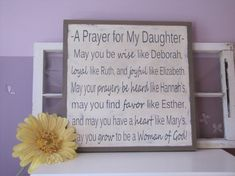 Childrens Wall Art Large Wooden Sign Scripture by leapoffaithsigns, $75.00
