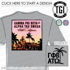 Gamma Phi Beta   ΓΦΒ   Alpha Tau Omega   ΑΤΩ   Hotel California T-shirt   University Sing T-shirt   Brotherhood   Brotherhood Tees   TGI Greek   Greek Apparel   Custom Apparel   Fraternity Tee Shirts   Fraternity T-shirts