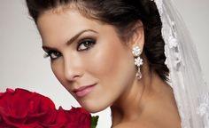 ijuhyg Wedding Make Up, Wedding Bride, Wedding Planner, Hair Makeup, Hairstyle, Drop Earrings, Jewelry, Brides, Weddings