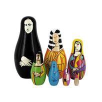 mona lisa nesting dolls #methodholidayhappy