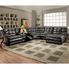 Contemporary Sectional sofa with Recliner . Contemporary Sectional sofa with Recliner . Sectional sofas with Ottoman Fresh sofa Design Leather Sofa Decor, Leather Reclining Sectional, Sectional Sofa With Recliner, Leather Sofa Set, Sofa Couch, Living Room Sectional, Recliners, Reclining Sofa, Black Sectional