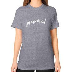 Flexicution Unisex T-Shirt (on woman)