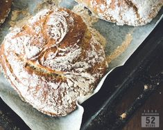 Siken sämpylät - luksusta aamuun ilman vaivaa - 52 Weeks of Deliciousness 52 Weeks, Bread Baking, Bread Recipes, Vegan Vegetarian, Food And Drink, Rolls, Cooking, Baking
