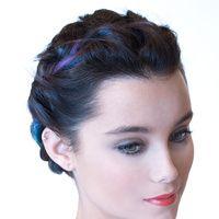 Tizas de colores para el pelo: manual de uso