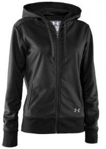 Under Armour Women's Armour Fleece Storm Full Zip Hoody - water resistant, warm, and comfy! #fitfluential