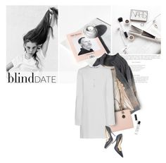 """""""What to wear: Blind Date..."""" by anna-anica ❤ liked on Polyvore featuring Tsumori Chisato, MICHAEL Michael Kors, Helmut Lang, NARS Cosmetics, Paul Andrew, Dana Rebecca Designs, women's clothing, women, female and woman"""