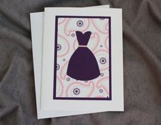 Thank You Bridesmaid Cards Set of Three by patternedpomegranate, $10.50 Donated thank you cards for the FFCS! https://www.etsy.com/shop/patternedpomegranate