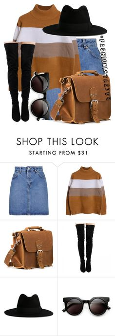 """Untitled #832"" by fashionista2704 on Polyvore featuring Topshop, Yves Saint Laurent and Retrò"