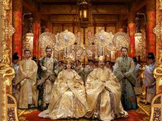 Elaborate costumes from The Curse of The Golden Flower
