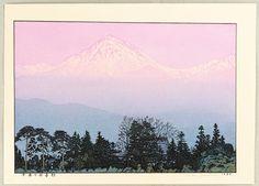 Yoshida, Tôshi   Yoshida Toshi: Azumino in Early Spring - Artelino