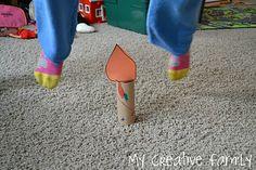 Jack Be Nimble candlestick craft