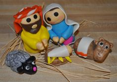 Nativity Cupcake Toppers by Summer's Sweet Treats
