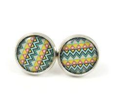 Aztec Earring Studs