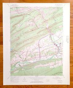 Antique Phantom Ranch Arizona 1988 US Geological Survey Topographic