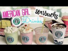 DIY American Girl Starbucks Drinks! - YouTube