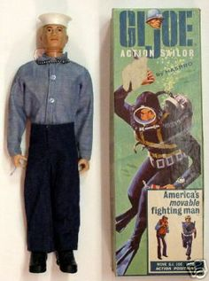 Toys - G.I. Joe - Sailor i ended up joining the navy from this and that dad was ex navy too.