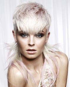 #Hair created by Royston Blythe Hairdressing #platinum