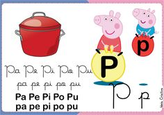 Família Silábica Peppa letra P